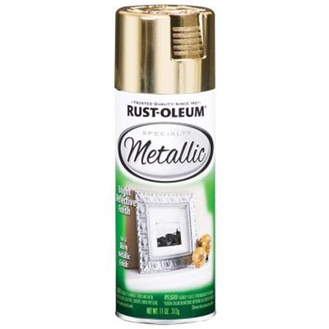 rust oleum specialty 11 oz metallic gold spray paint of 6 1910830 the home depot