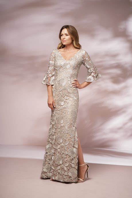 Simple Elegant Dress For Mother Of The Groom