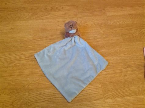 teddy bear comfort blanket asda george teddy bear comfort blanket comforter choice