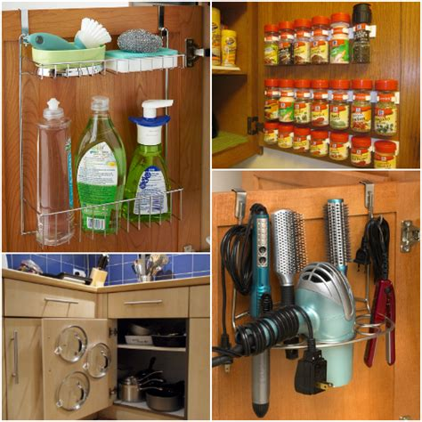 16 Genius Storage Ideas You Probably Haven T Thought Of Inside Kitchen Cabinet Door Storage