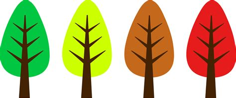 cute trees cute simple tree designs free clip art