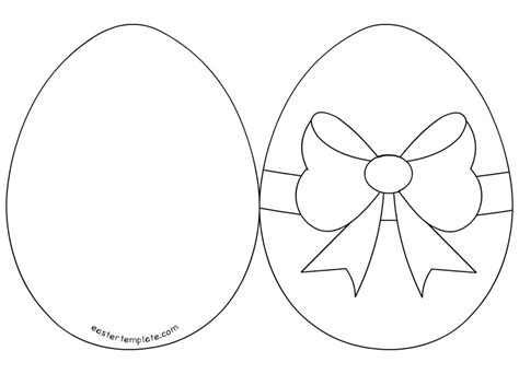 easy easter cards templates easter egg template sadamatsu hp