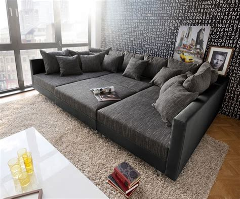 sofatraeume images  pinterest big sofas living room couches  ottoman bench