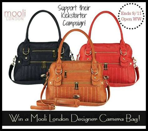 Camera Bag Giveaway - mooli london camera bag giveaway