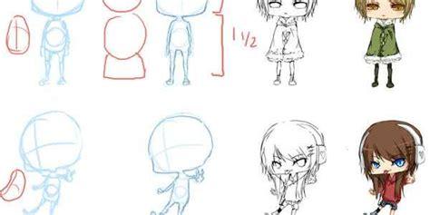 tutorial gambar anime chibi collection of anime and manga tutorials ninja crunch