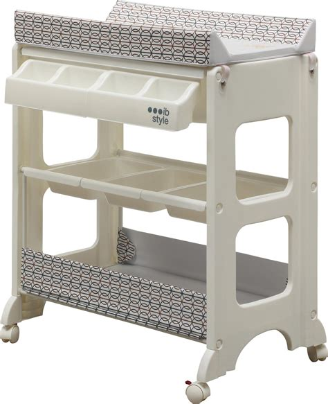 Baby Change Table With Bath And Storage Changing Table Bath 4 Decors Storage Bath Tub Unit Baby Ebay