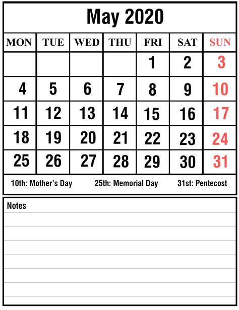 calendar printable  holidays templates