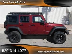 jeep wrangler unlimited maroon arizona mitula cars