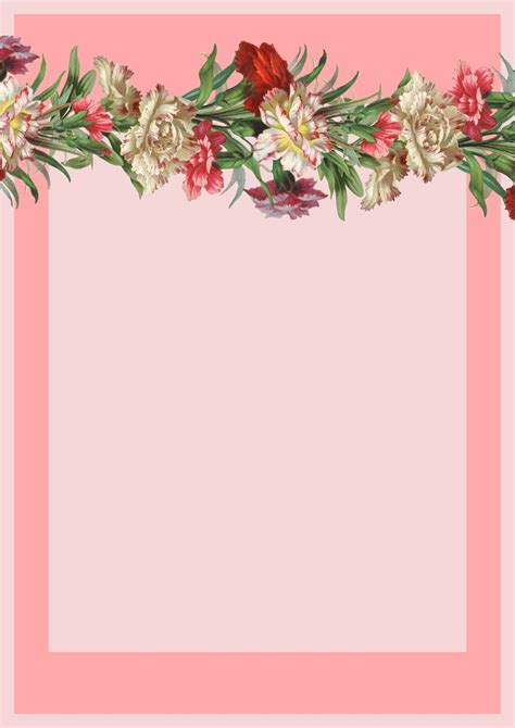 printable vintage stationery 8 best images of free printable flower stationery free