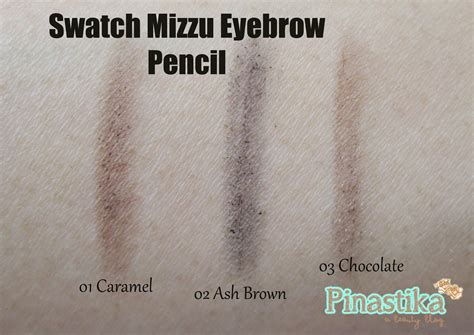 Mizzu Brow Wow Grey Shade 0 4 pinastika review mizzu eyebrow matic