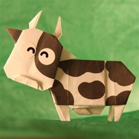 Origami Cow - origami cow this is one of my iphone 5 5s for