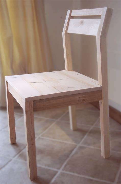 white modern angle chair diy projects