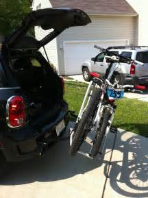 rear mount bike rack 2 significant problems