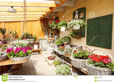flower shop interior stock image image  objects