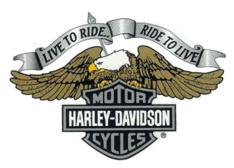 Harley Aufkleber Xxl by Harley Davidson Sticker Live To Ride Eagle Bar Shield Logo