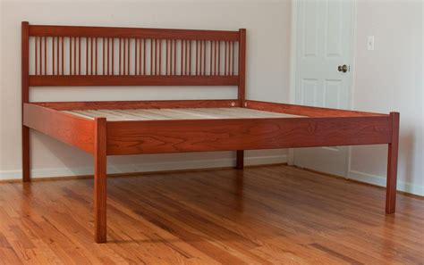 solid wooden bed frame loccie better homes gardens