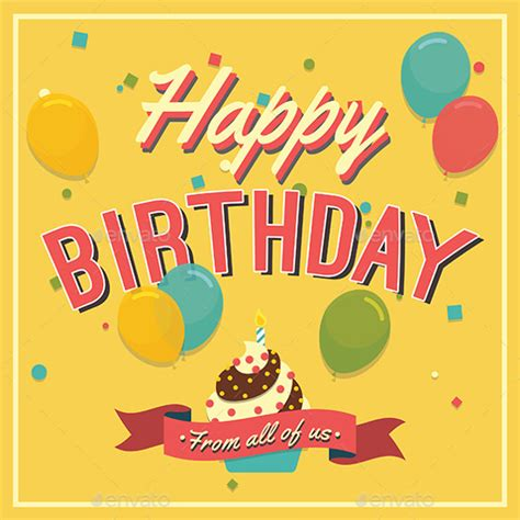 birthday greeting cards templates free 21 birthday card templates free sle exle format