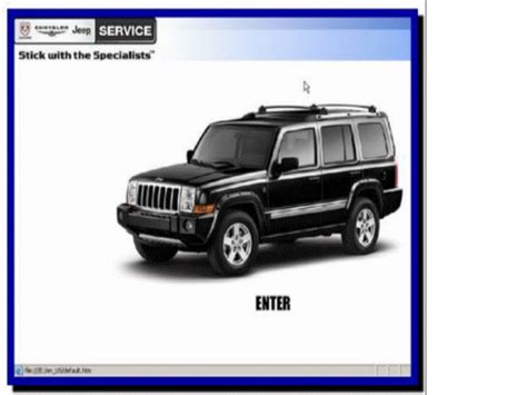 vehicle repair manual 2010 jeep commander lane departure warning service manual 2007 jeep commander service manal the best 2007 jeep commander factory