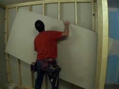 hang a picture how to hang drywall youtube