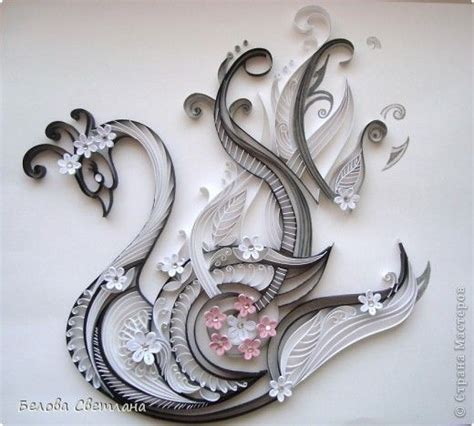 quilling swan tutorial 17 best images about quilling filligraan on pinterest