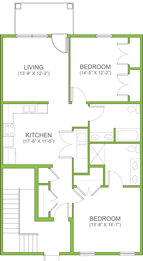 floor plan for two bedroom apartment rent the easton two bedroom apartment the landings at