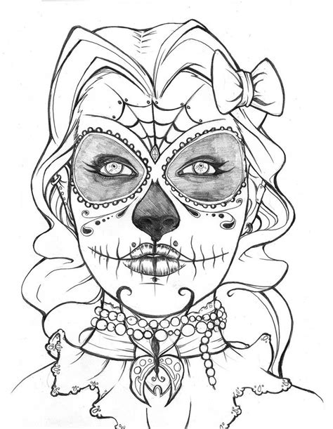 day of the dead owl coloring pages http azcoloring com coloring page 67985 coloring