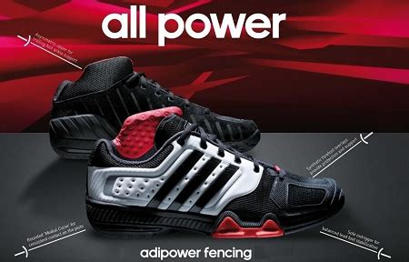 Adidas Adipower Fencing Shoes - adidas 2012 adipower fencing shoes black