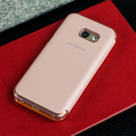 Flip Mirror A3 2017 Blue official samsung galaxy a3 2017 neon flip wallet cover pink