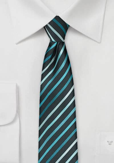 nudo para corbata estrecha corbata de forma estrecha verde menta negra