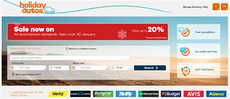 discount vouchers for uk holidays holiday autos discount codes promo codes 11 5 off