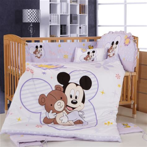 Baby Minnie Mouse Crib Set Get Cheap Mickey Mouse Crib Bedding Sets Aliexpress Alibaba