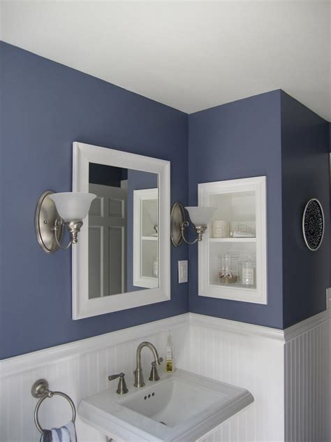 bathroom paint ideas blue diy bathroom decor tips for weekend project