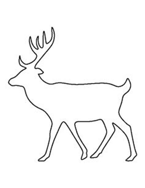 Moose Pattern Use The Printable Outline For Crafts Creating Stencils Scrapbooking And More Moose Cut Out Template