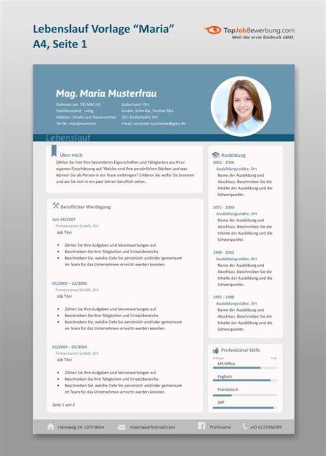 Bewerbungen Design Vorlage 25 best ideas about professionelle bewerbung on