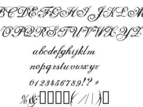tattoo fonts elegant cursive fonts beautytattooideaphotos