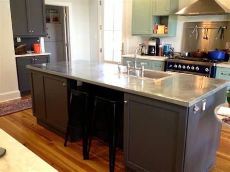Countertops Baltimore by Beautiful Zinc Countertops Mode Los Angeles