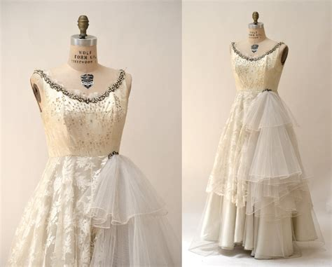 Wedding Dresses Vintage 40 S by 1940 40s Vintage Wedding Dress Size Small By