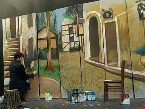 Theatrical Curtains by The Joy Of Sets Theatrical Scenic Painting Unleashed