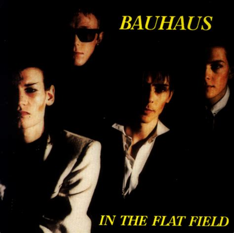 in the bauhaus discography in the flat field live