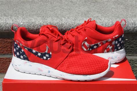 customize roshe run shoes shoes nike roshe run nike roshe run american flag