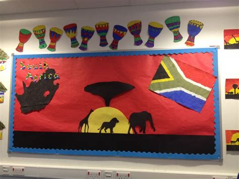 ideas for christmas decorting for south africa at school south africa display my classroom display africa and south africa