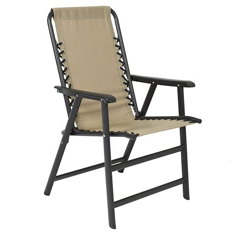 Folding Chair - best choice products lounge suspension folding chair