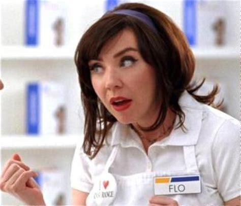 geico commercial actress flo why does flo from the progressive insurance ads slightly