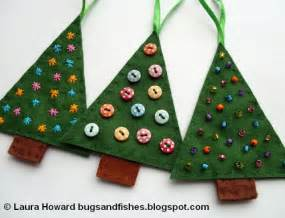 bugs and fishes by lupin how to felt christmas tree