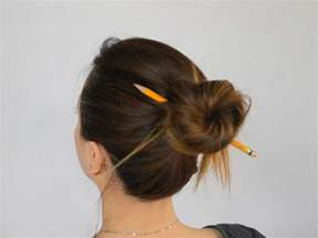styling products for an american hair bun how to make a bun without a hair tie 8 steps with pictures