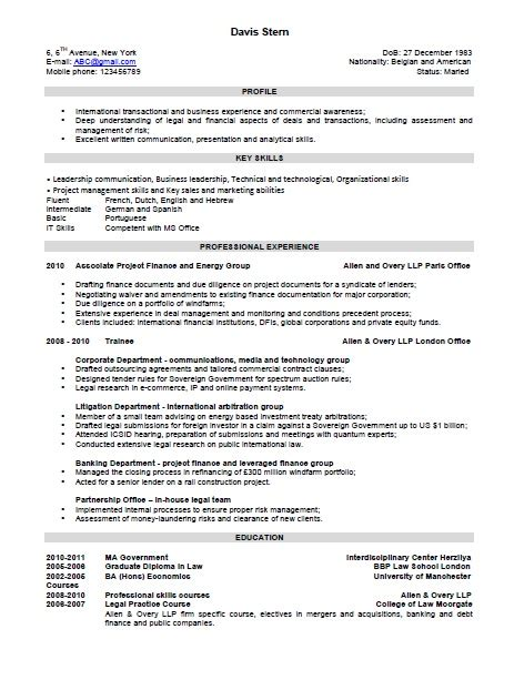 the combination resume template format and exles