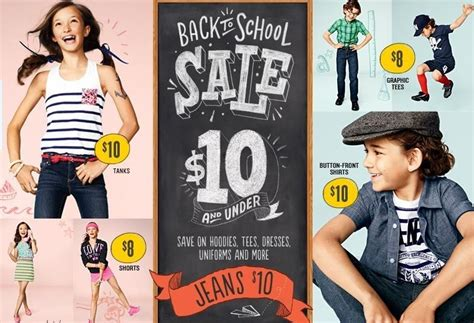 Old Navy Sweepstakes - shop old navy s back to school super sale today the fashionable housewife