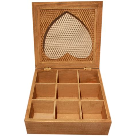 porta tisane scatola chic porta buste th 232 tisane rustica invecchiata