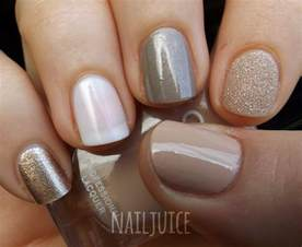 manicure colors nail juice nail mail pt 2 golds neutrals