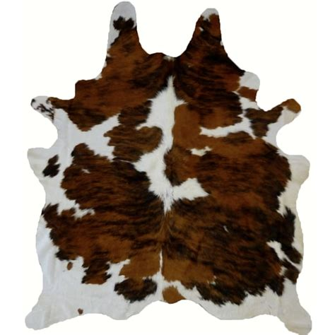 White Cowhide Rugs For Sale by Shop Real Cowhide Rug Tricolor White Free Shipping